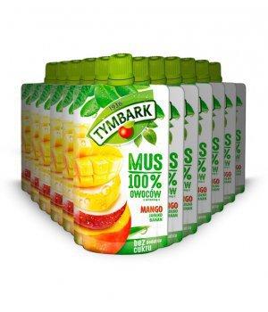 12X Mus mango-jabłko-banan 120g Tymbark