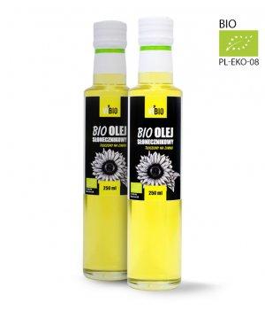 BIO Olej słonecznikowy 250ml