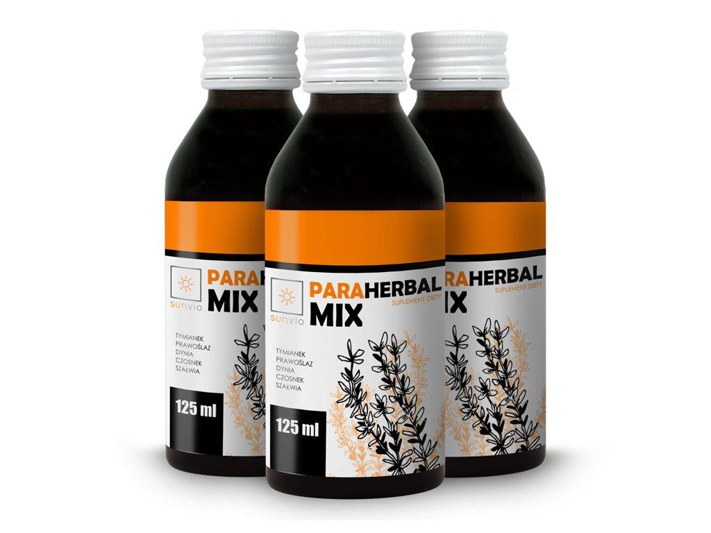 Para Herbal Mix 125ml SUNVIO Zestaw 3 za 2