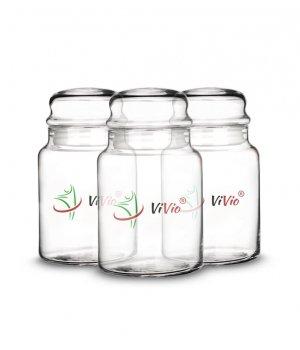 3x Słoik szklany VIVIO 890ml