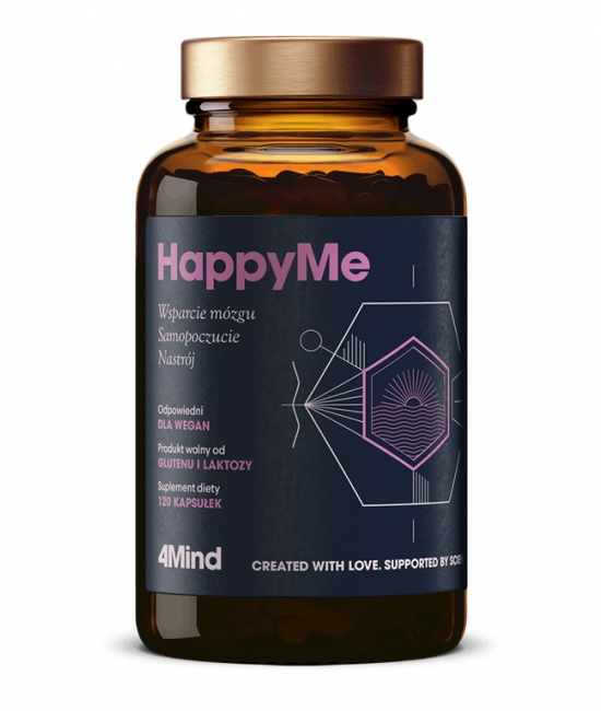 4Mind HappyMe 120 kapsułek Healthlabs