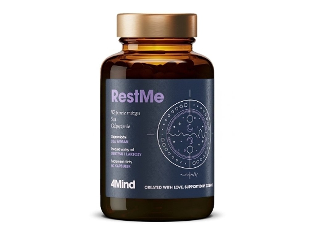 4Mind Rest Me 60 kapsułek Healthlabs