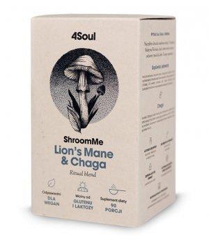 4Soul ShroomMe Lion's Mane & Chaga Healthlabs