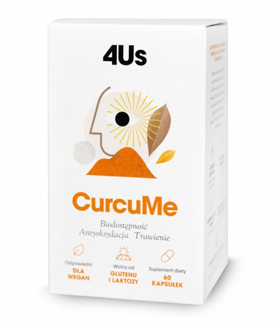 4Us CurcuMe 60 kapsułek HealthLabs