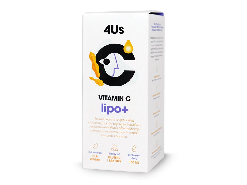 4Us Vitamin C lipo+ 150ml Healthlabs