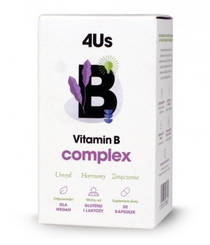4Us Vitamin B Complex 30 kaps