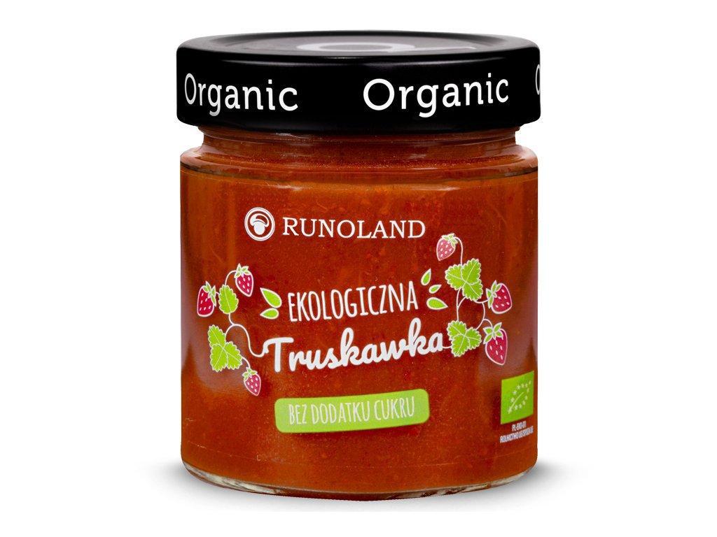 Ekologiczny dżem truskawkowy 200g - RUNOLAND