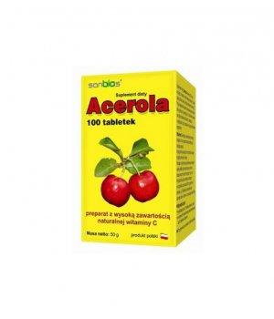 Acerola w tabletkach , acerola tabletki, opinie, właściwości