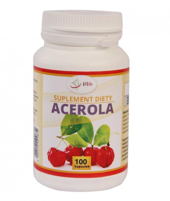 Acerola 500mg 100 kapsułek