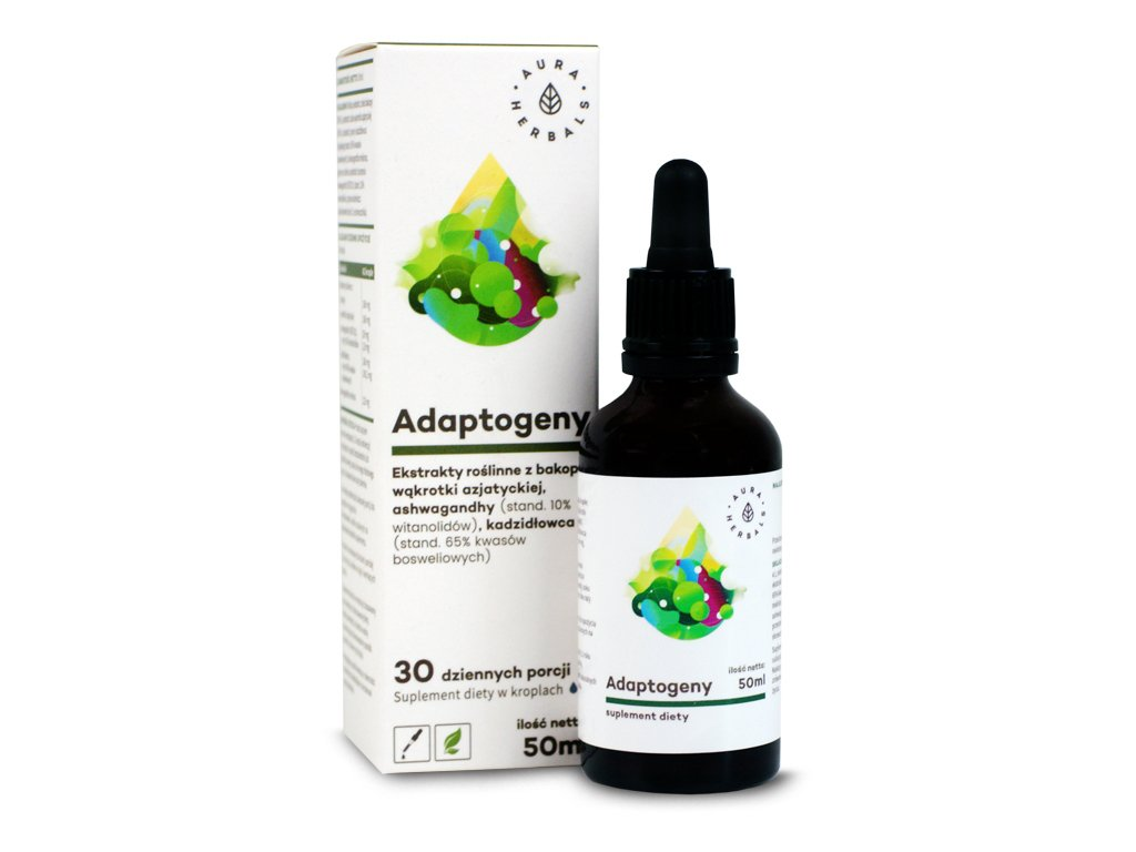 Adaptogeny 50ml Aura Herbals