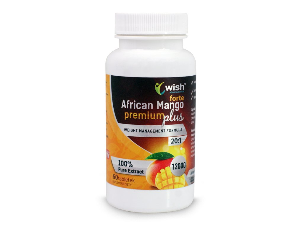 African Mango Forta 12000 60 tabletek - WISH