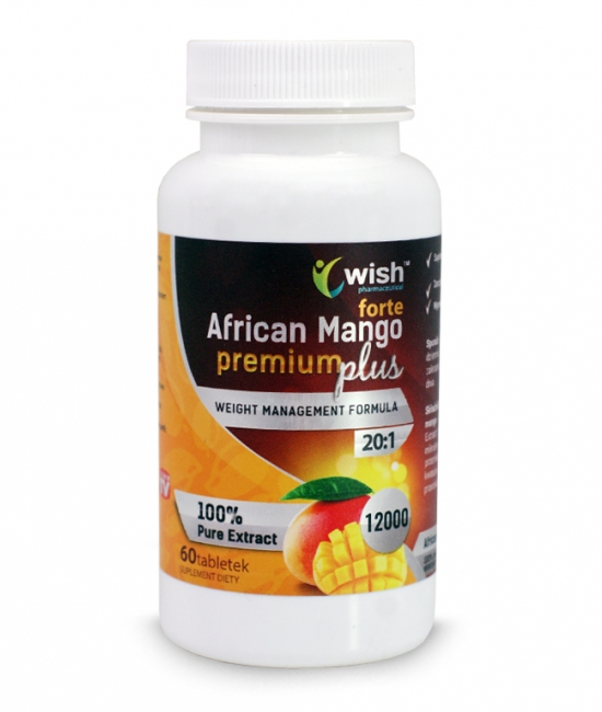 African Mango Forta 12000 60 tabletek - WISH