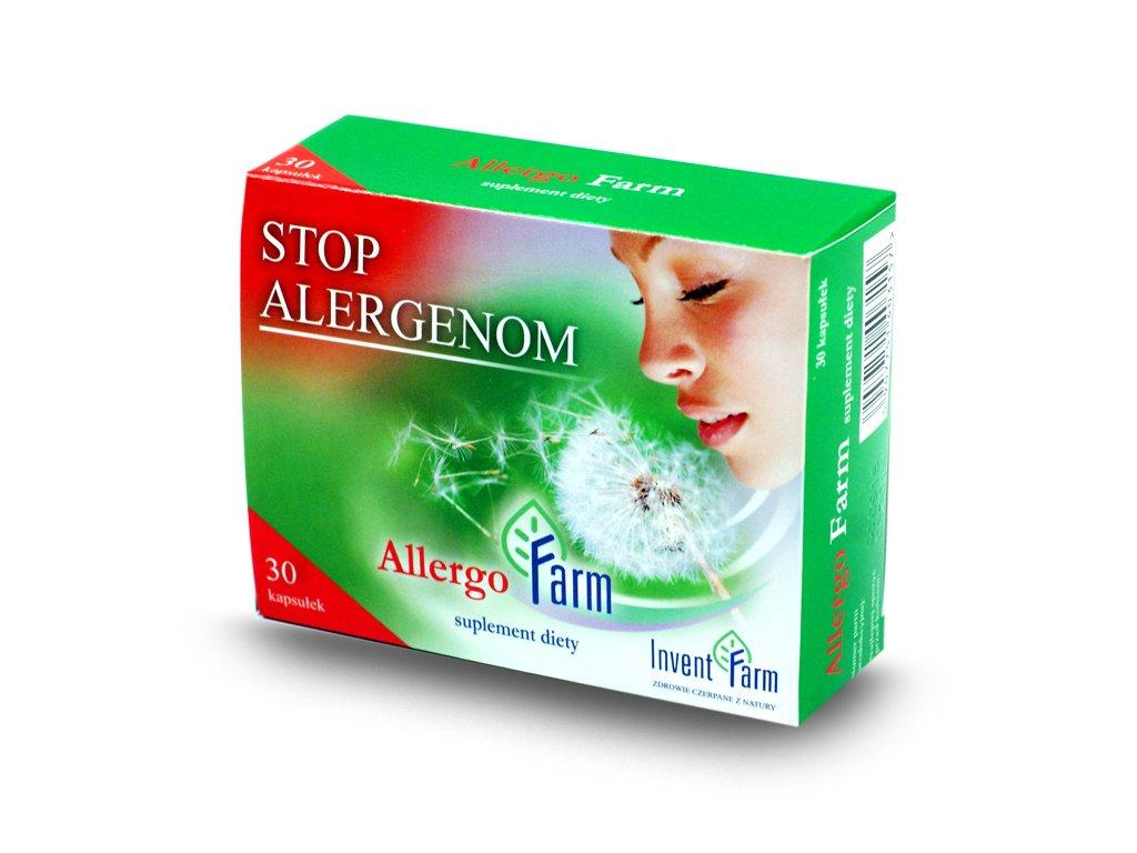 Allergo farm 30 kapsułek, przeciw alergiom