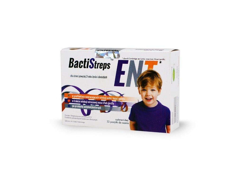 BactiStreps ENT 32 pastylki