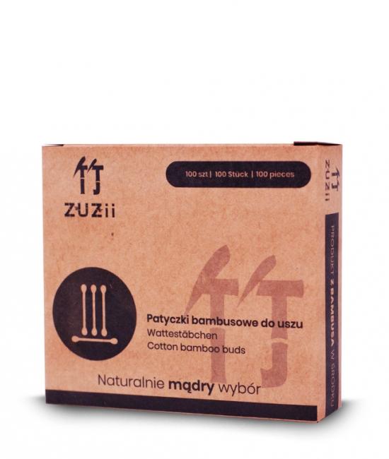 Bambusowe patyczki higieniczne do uszu 100szt ZUZii