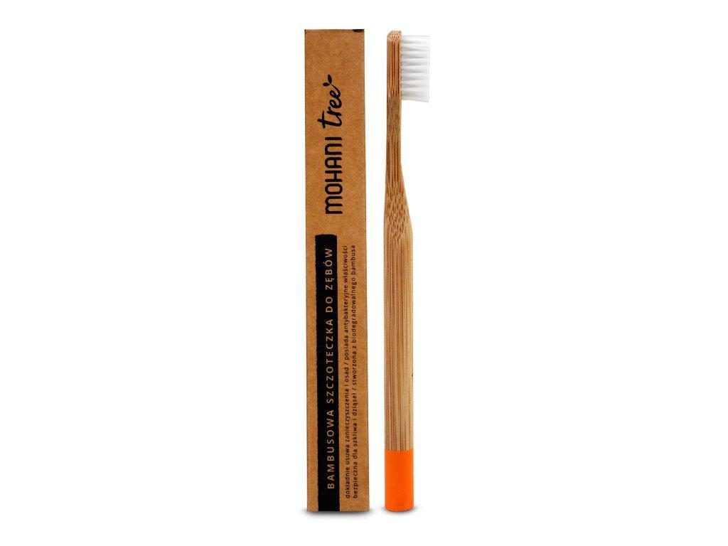 Bambusowa szczoteczka do żębów miękka Mohani