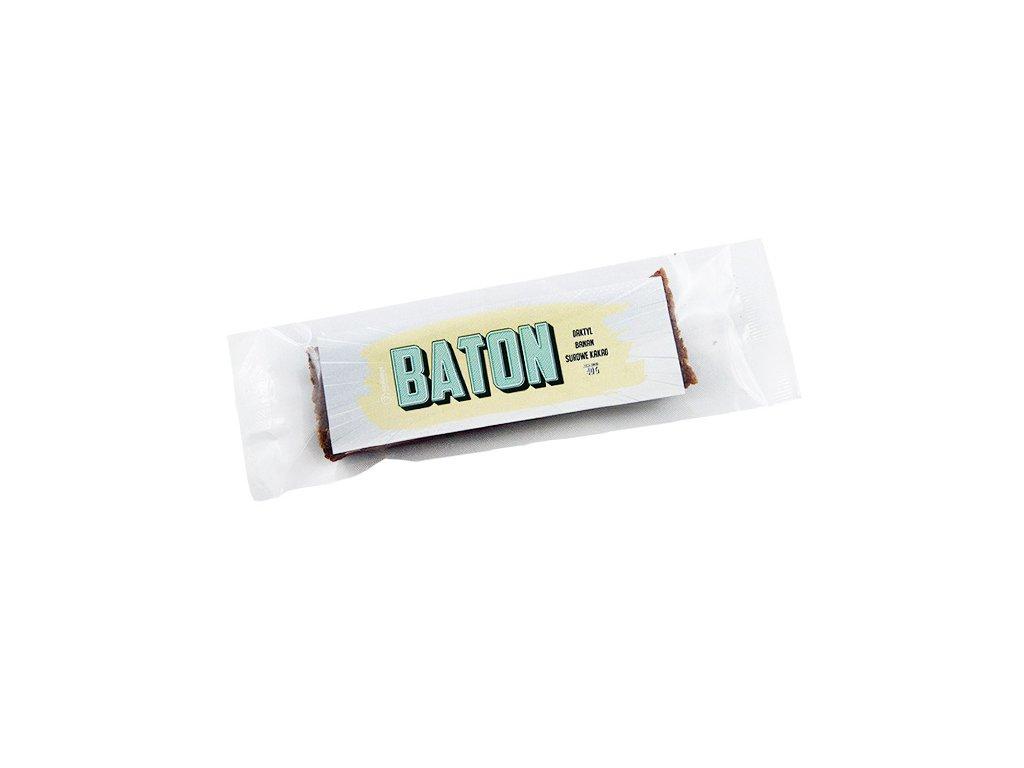 Baton daktylowy z bananem i kakao 40g