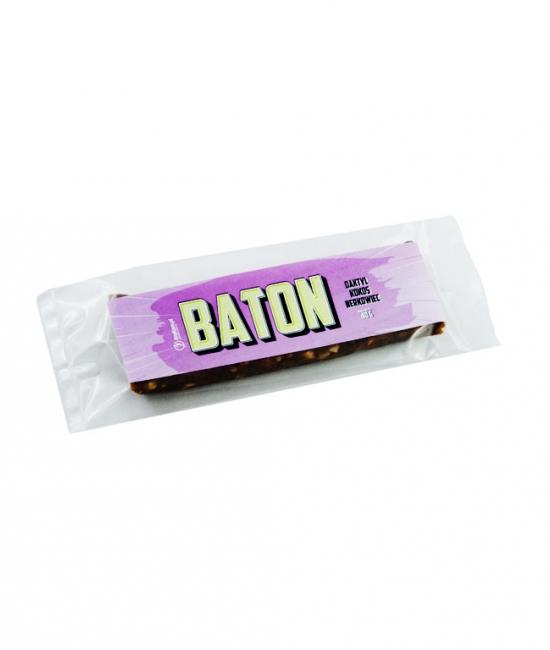 Baton daktylowy z kokosem i nerkowcami 40 g