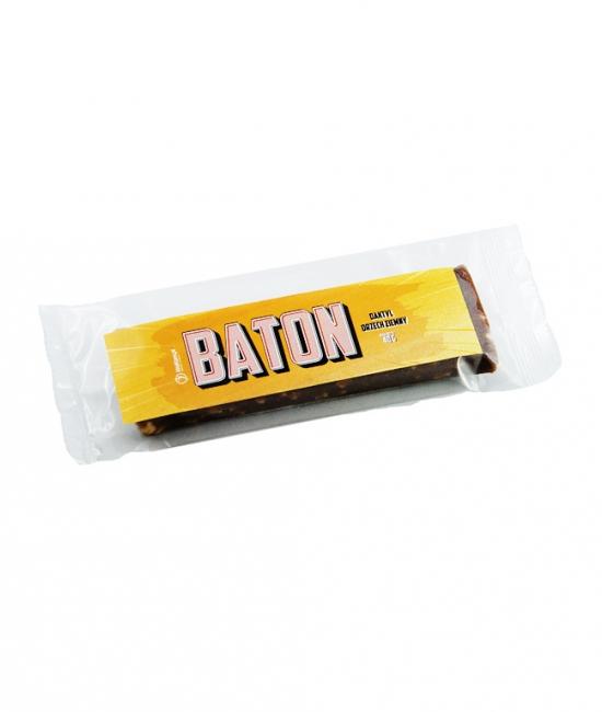 Baton daktylowy z orzechami ziemnymi 40g
