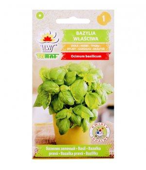 Bazylia właściwa nasiona 1g TORAF