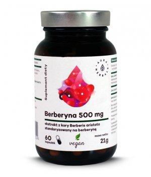 Berberyna 500mg 60 kapsułek Aura Herbals