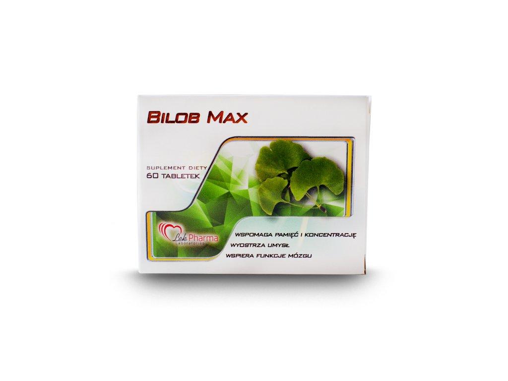 Bilob Max 60 tabletek