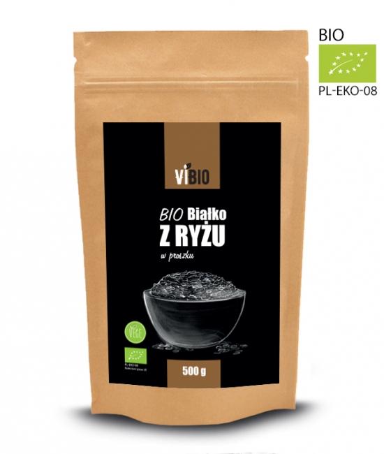 BIO białko z ryżu 500g