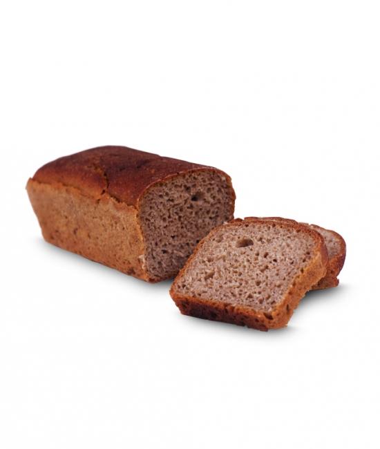 BIO Chleb 100% żytni na zakwasie ciemny Kiełtyka 450g