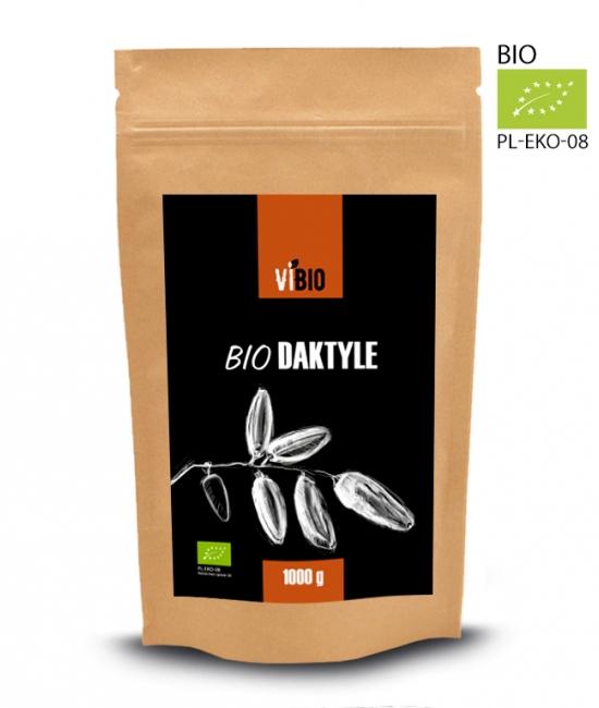 Daktyle ekologiczne, Bio datkyl, Organic dates 1000g