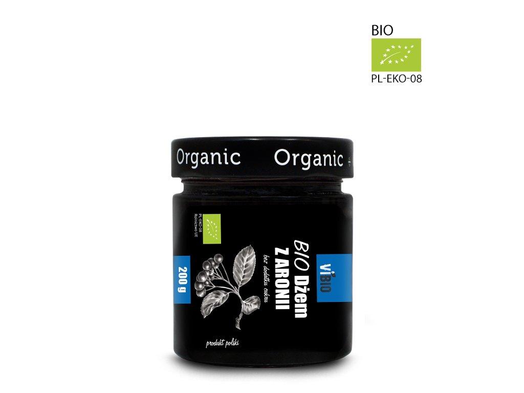 Dżem bez cukru Ekologiczny - Dżem z aronii(aroniowy) 200g