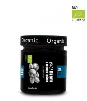 Dżem bez cukru jagodowy - Eklogiczny Dżem z jagody leśnej 200g