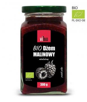 Dżem malinowy bez cukru ekologiczny -dżem z malin 300g