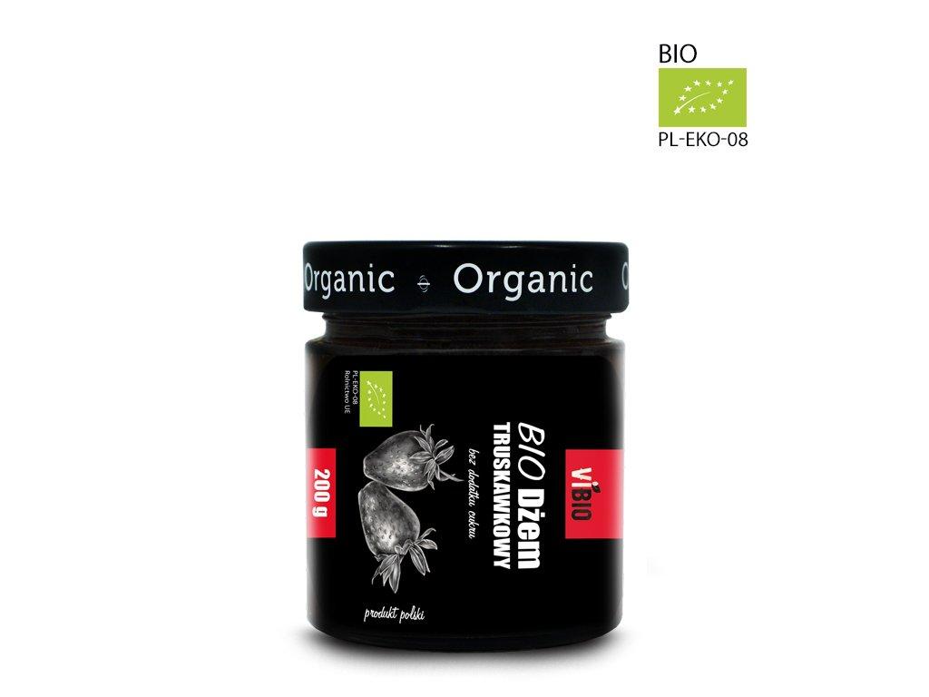 Dżem bez cukru ekologiczny (BIO) Dżem truskawkowy 200g