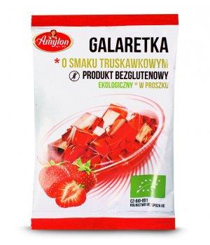 BIO Galaretka truskawkowa 40g AMYLON