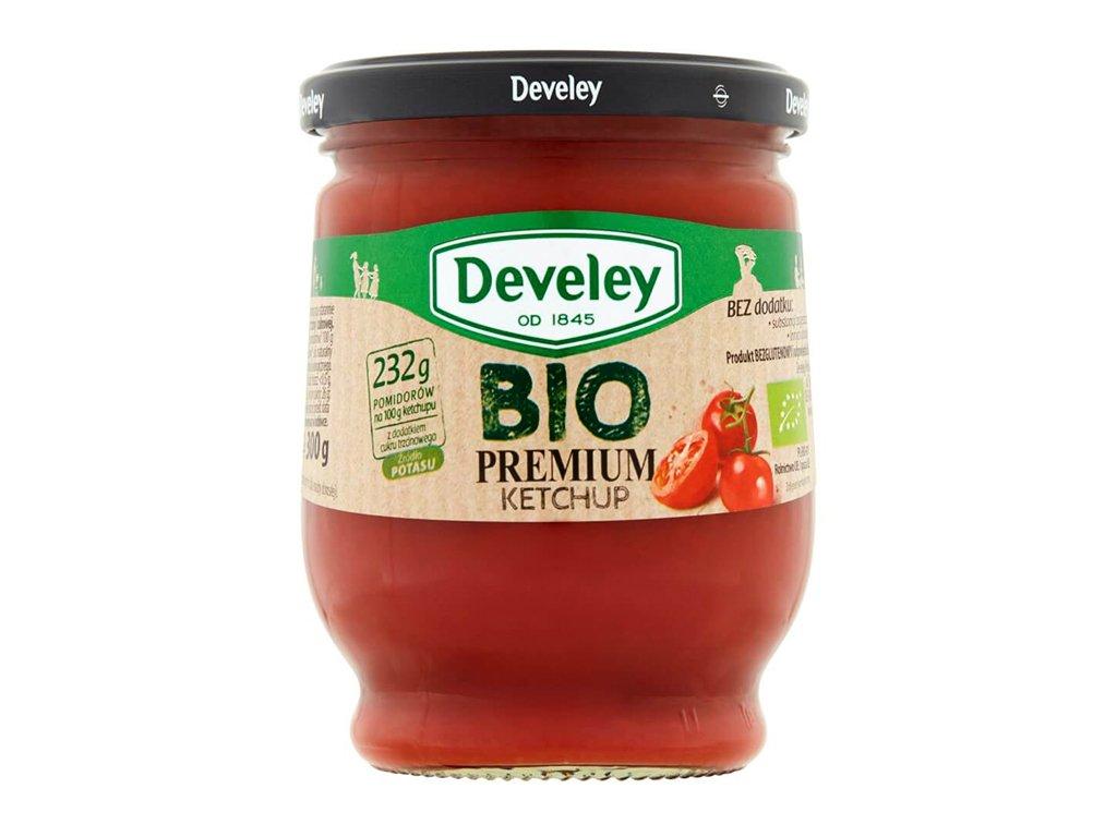 BIO Ketchup premium słoik 300g Develey