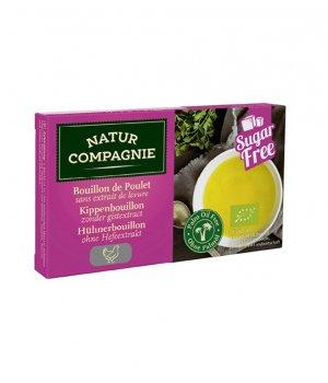 BIO Kostki drobiowe bez dodatku cukrów i drożdży 80g N.Compagnie