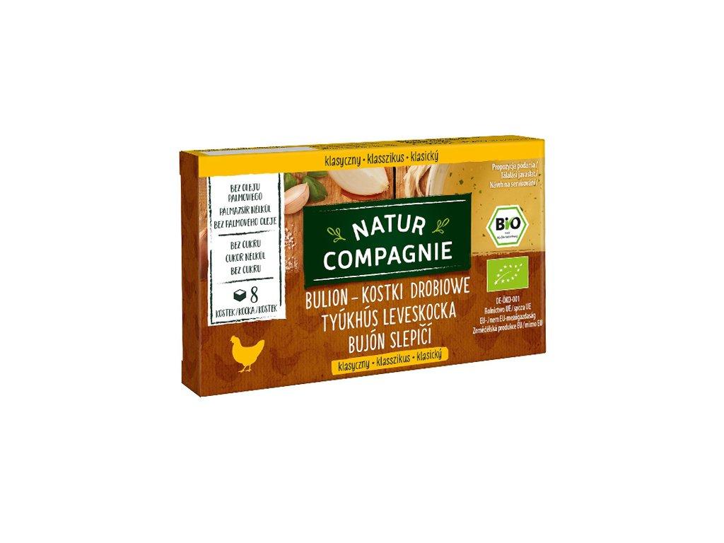 BIO Kostki drobiowe bez dodatku cukrów 88g N.Compagnie