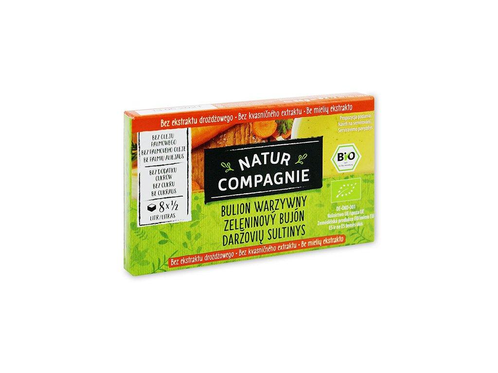 BIO Kostki warzywne bez zawartości drożdży 84g N.Compagnie