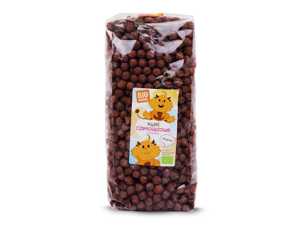 BIO Kulki czekoladowe 300g BIO MINKI