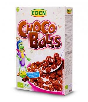 BIO płatki kulki czekoladowe 375g EDEN