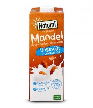 BIO Napój migdałowy bez cukru 1000ml Natumi