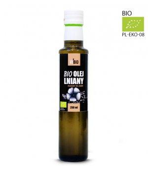 BIO Olej lniany 250ml
