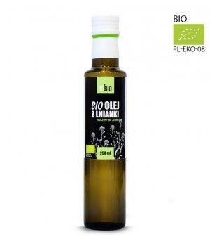 BIO Olej z lnianki (rydzowy) 250ml