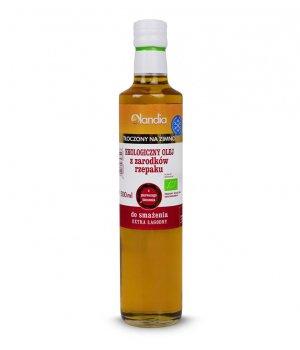 BIO Olej z zarodków rzepaku 500ml OLANDIA