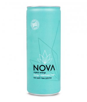 BIO Energetyczny napój pomarańczowy 250ml NOVA