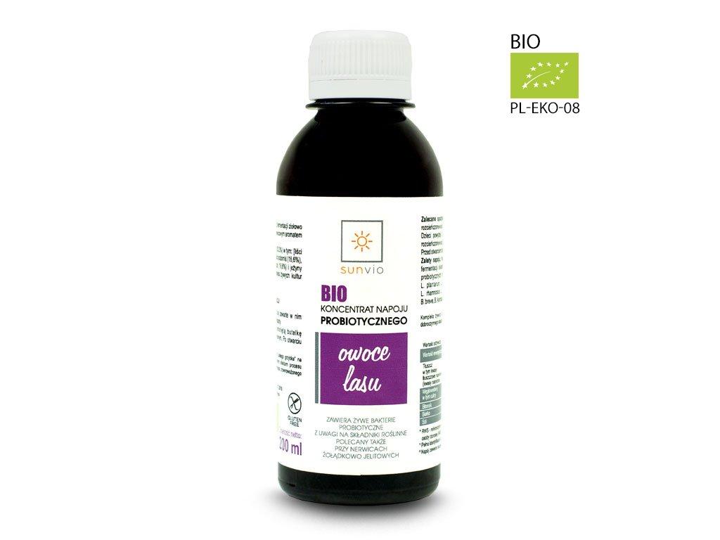 Probiotyk owoce leśne 200ml, odporność
