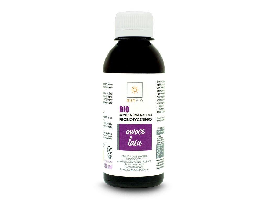 BIO probiotyk owoce leśne 200 ml SUNVIO