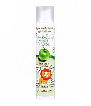 BIO Pasta do zębów dla dzieci jabłkowa 50ml AZETA
