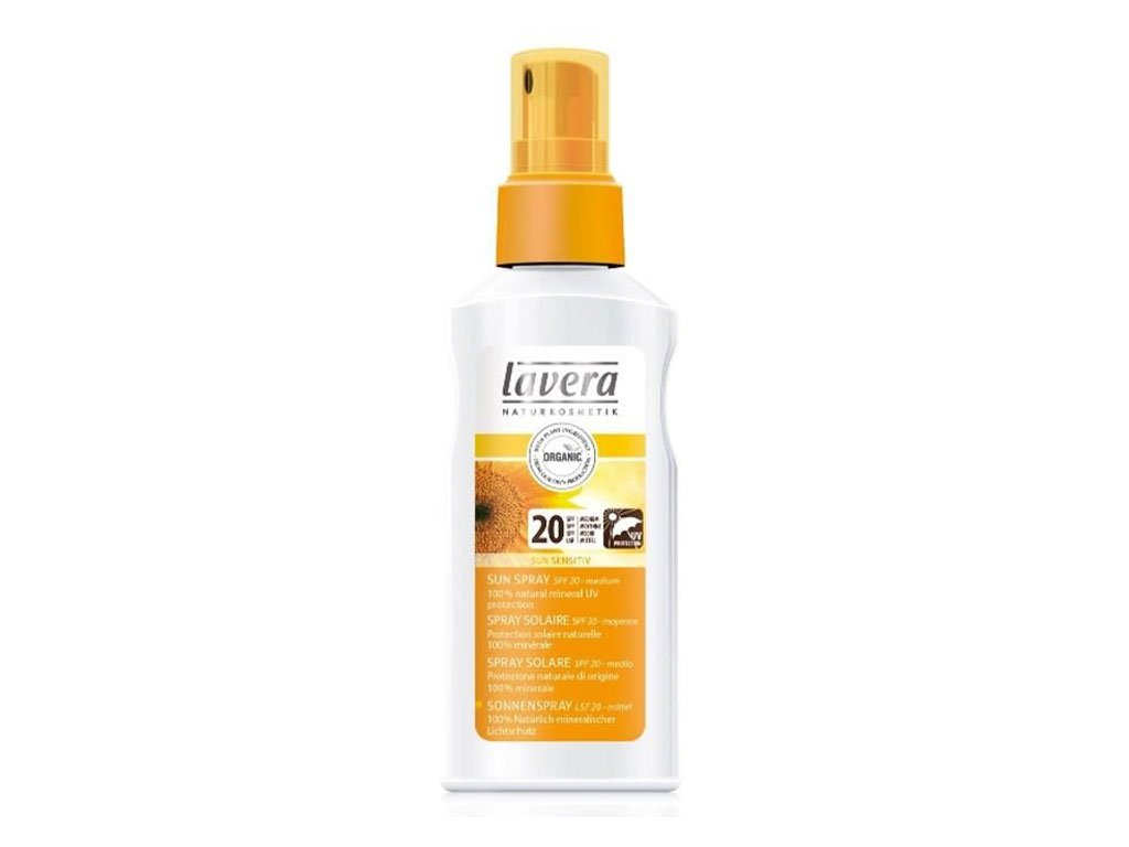 BIO Spray do opalania SPF 20 125ml Lavera