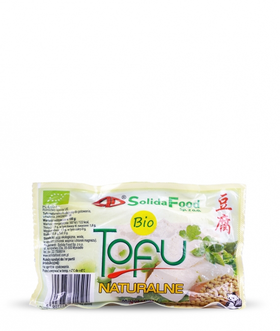 BIO Tofu naturalne 300g Solida Food